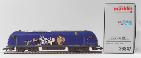 Consignment 36847 - Marklin 36847 German Diesel Locomotive Br 2016 FC Club Looney Tunes