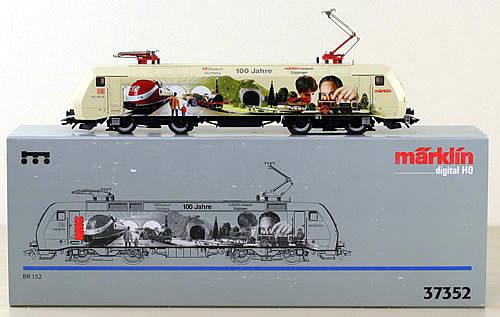 Consignment 37352 - Marklin 37352 - DGTL ART ELEC LOCO CL 152