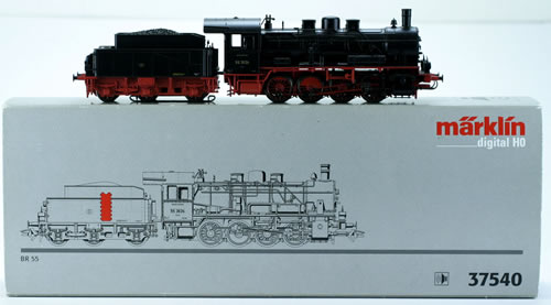 Consignment 37540 - Marklin 37540 DGTL STEAM LOCO W/TENDER CL 55