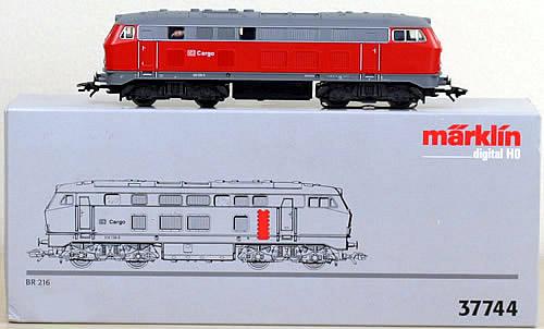 Consignment 37744 - Marklin 37744 Diesel Locomotive BR 216