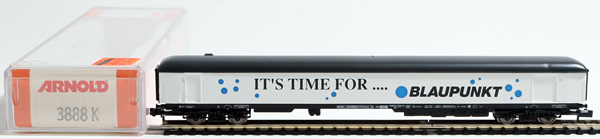 Consignment 3888 - Arnold 3888 Markiting Freight Car ITS TIME FOR…. BLAUPUNKT