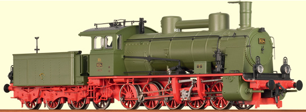 Consignment 40156 - Brawa 40156 German Steam Locomotive Class Hh of the DB (DCC Sound Decoder)
