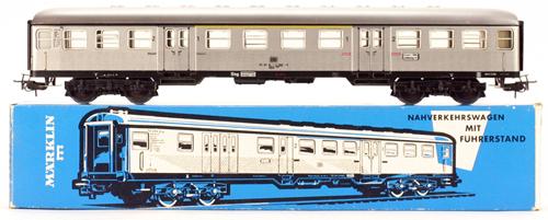Consignment 4081 - Marklin 4081 Suburban Passenger Coach 2nd Class