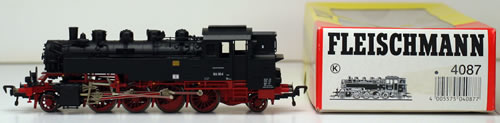 Consignment 4087 - Fleischmann 4087 Steam Locomotive Class 86 of the DDR