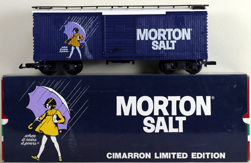 Consignment 4090MS - LGB 4090MS Morton Salt Box Car