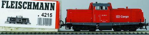 Consignment 4215 - Fleischmann 4215 Diesel Locomotive Class 212 of the DB AG