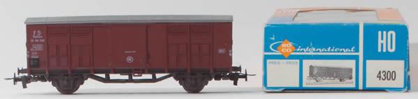 Consignment 4300 - Roco 4300 Italian 2 Axle Boxcar of the FS