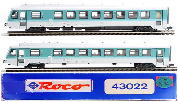 Consignment 43022 - Roco 43022 2pc Control Car Set 1/2 Class