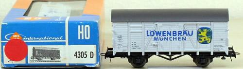 Consignment 4305D - Roco 4305D Lowenbrau Munchen Box Car