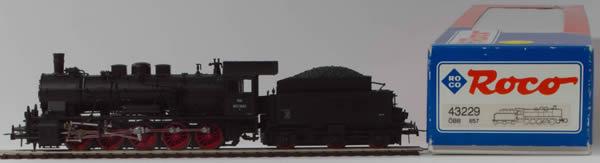 Consignment 43229 - Roco 43229 Austrian Steam Locomotive Class 657 of the OBB