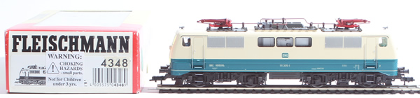 Consignment 4348 - Fleischmann 4348 German Electric Locomotive 111 205-1 of the DB