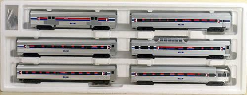 Consignment 43600 - Marklin 43600 Amtrak Streamliner Set