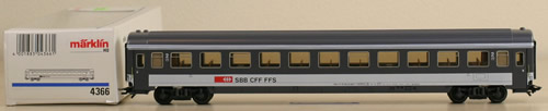 Consignment 4366 - Marklin 4366 2nd Class Passenger Car SBB