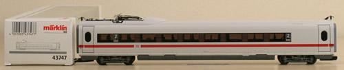Consignment 43747 - Marklin 43747 - ICE 3 2nd Class Car