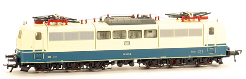 Consignment 4381 - Fleischmann 4381 DC Electric Locomotive DB 151