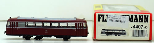 Consignment 4407 - Fleischmann 4407 Railbus Motor Coach of the DB