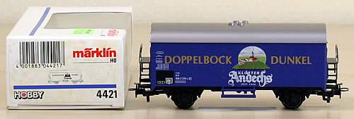 Consignment 4421 - Marklin 4421 Freight Car DOPPELBOCK DUNKEL