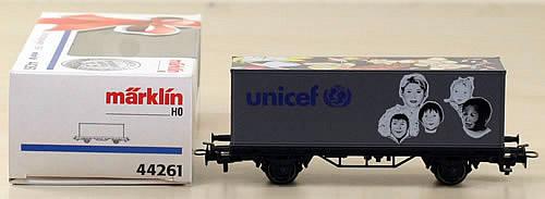 Consignment 44261 - Marklin 44261 Freight Car UNICEF