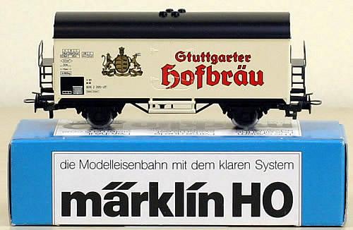 Consignment 4439 - Marklin 4439 Freight Car Gtuttgarter Hofbrau