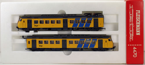 Consignment 4470 - Fleischmann 4470 Electric Locomotive of the NS
