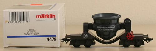 Consignment 4479 - MARKLIN 4479 SLAG CAR -MANNESMANN COMPANY