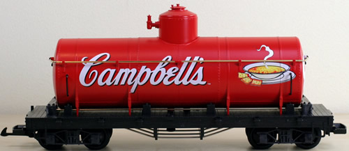 consignment 44800  lgb 44800 campbells soup tank car