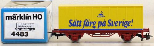Consignment 4483 - Marklin 4483 Alcro Container Car