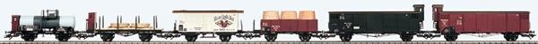 Consignment 45101-1 - Marklin 6pc Geislinger Grade Freight Set