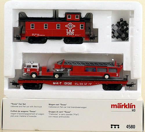 Consignment 4580 - Marklin 4580 TEXAS Car Set 150 Year Anniversary