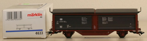 Consignment 4633 - Marklin 4633 Sliding Wall Boxcar