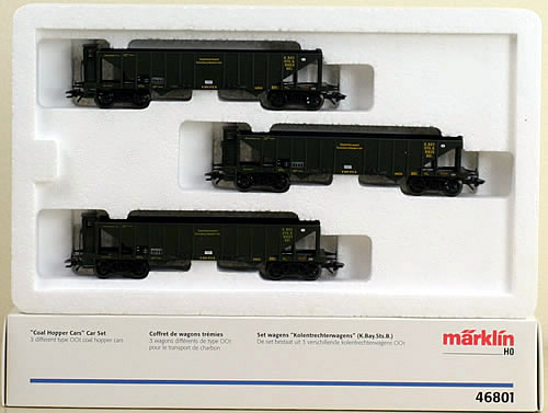 Consignment 46801 - Marklin 46801 Coal Hopper Car Set