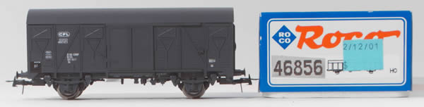 Consignment 46856 - Roco 46856 Luxembourg 2 Axle Boxcar of the CFL