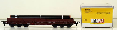 Consignment 47000 - Brawa 47000 Flatcar with Load of the DR