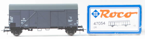 Consignment 47054 - Roco 47054 German 2 Axle Boxcar of the DR