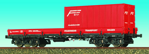 Consignment 47101 - Brawa 47101 Flat Car Feuerwehr Transport