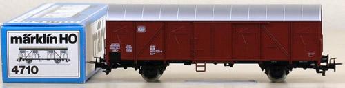 Consignment 4710B - MARKLIN 4710B BOX CAR
