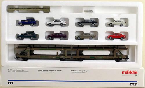 Consignment 47121 - Marklin 47121 Double Auto Transport Car Set
