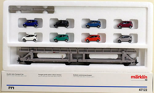 Consignment 47122 - Marklin 47122 Double Auto Transport Set