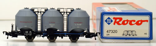 Consignment 47320 - Roco Coal Dust Wagon of the DDR