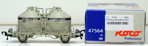 Consignment 47564 - Roco 47564 Silo Car Villeroy & Boch of the DB