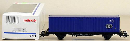 Consignment 4769 - Marklin 4769 Container Car TFG