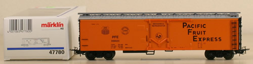 Consignment 47780 - Marklin 47780 Pacific Fruit Express Freight Car