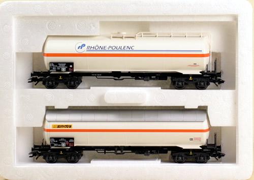 Consignment 47885 - Marklin 47885 - Nitrogen Gas Transport Cars