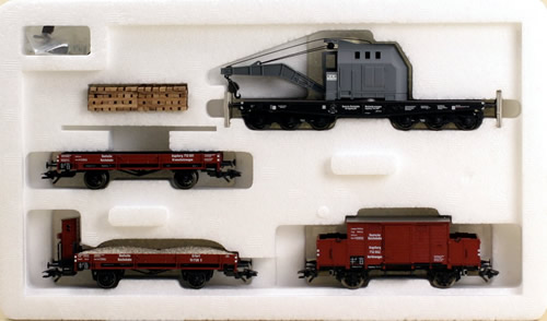 Consignment 47893 - Marklin 47893 Track Laying Train Car Set