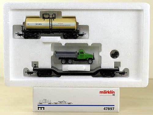 Consignment 47897 - Marklin 47897 Freight Car Set SZD