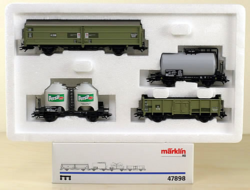 Consignment 47898 - Marklin 47898 Henkel Car Set