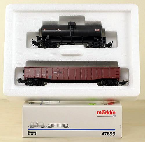 Consignment 47899 - Marklin 47899 Freight Car Set SZD