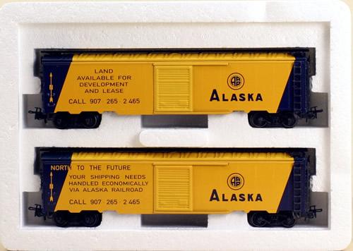Consignment 4858 - Marklin 4858 - Alaska Railroad Boxcars