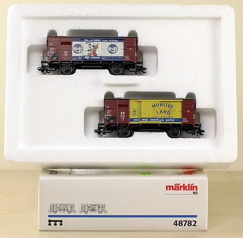 Consignment 48782 - Marklin 48782 Economic Miracle Car Set