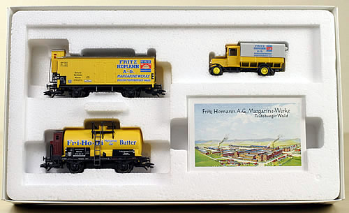Consignment 48924 - Marklin 48924 DRG Fritz Homann-Disson Wagen-Set